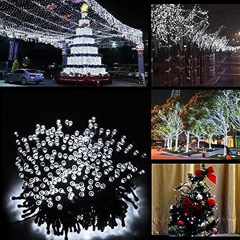 NNIUK 10M 100 LED stellata luci leggiadramente della stringa a pile per partito dell'albero di Natale giardino decorazione di Halloween. - Guardare La Finestra Sul Cortile