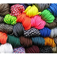 American Paracord Assorted Pack 10 Colours x 10 Feet
