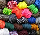 Best Paracords - American Paracord Assorted Pack 10 Colours x 10 Review