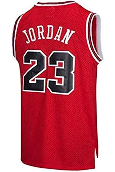 Victorem NBA Michael Jordan #23 Camiseta de Baloncesto para Hombres Chicago Bulls Retro Chaleco de Gimnasia Top Deportivo S-XXL: Amazon.es: Ropa y accesorios