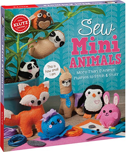 Sew Mini Animals (Klutz) por Editors of Klutz