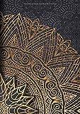 Bullet Journal: Carnet Pointillé A5 - pour Prendre des Notes, Lettrage, Calligraphie, Gribouiller (Série Design Vintage)