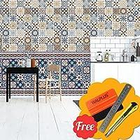 Elegant Walplus Entfernbarer Selbstklebend Wandkunst Aufkleber Vinyl Wohndeko DIY  Wohnzimmer Schlafzimmer Küche Dekor Tapete Walplus Azulejo Sockelleiste