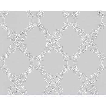 Schöner Wohnen Vliestapete Tapete Grafisch 1005 M X 053 M Grau