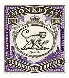 Monkey 47 Schwarzwald Dry Gin – Harmonischer Gin mit Wacholderaroma & frischen Zitronen- und Fruchtnoten – Britische Tradition, indische Exotik & Schwarzwälder Handwerk – 1 x 0,5 L - 3