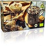 C&T BIO Trinkschokolade-Adventskalender 2018 NEU mit 2x12 Sorten feinstem Schokoladenpulver aus ökologischem Anbau - Kakao genießen - Weihnachts-Kalender mit Kakaospezialitäten zum selber machen