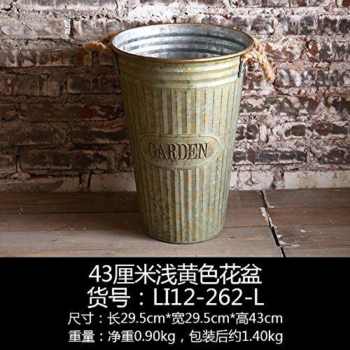 american-retro-tamburo-creative-home-balcone-delicate-decorazioni-vaso-di-ferro-43-cm-giallo-luce-va