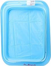 FXCO Aufblasbares Sand-Behälter-Schloss-Sand-Tabellen-Kind Scherzt Innenspiel-Sand-Schlamm-Spielzeug