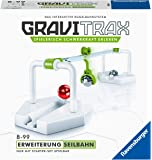 Ravensburger GraviTrax Erweiterung Seilbahn - Ideales Zubehör für spektakuläre Kugelbahnen, Konstruktionsspielzeug für…