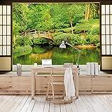 Apalis Vliestapete Lake View Fototapete Breit | Vlies Tapete Wandtapete Wandbild Foto 3D Fototapete für Schlafzimmer Wohnzimmer Küche | grün, 98579