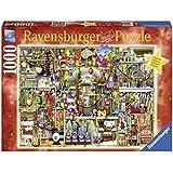 Ravensburger Puzzle 19561 - Weihnachtsregal, 1000-teilig