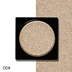 9th Avenue 05: Ucanbe Shimmer Eye Shadow Single Palette 26 Colors DIY Pressed Eyeshadow Lasting Pigment Matte Nude Natural Minerals Make Up