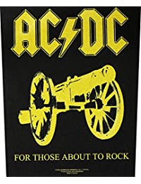 Patch AC / DC FOR THOSE ABOUT TO ROCK Backpatch Sew-On by AC/DC