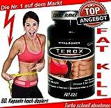 BRAND NEU > TEROX - 90 Kapseln > TURBO SCHNELL ABNEHMEN > FETTVERBRENNUNG > DIÄT > GEWICHTSREDUKTION > JETZT NOCH STÄRKER WIRKUNG > Fett verbrennen >Turbo schnell Abnehmen > Gewicht verlieren > Diät Fatburner > Fettburner > Gewichtsreduktion > Gewichtsmanagement > Ernährung Schnell Schlank > Diät Pillen.....Hierbei handelt es sich um Nahrungsergänzungsmittel (NEM): Nicht Verschreibungspflichtig (Kein Arzneimittel) alle Inhaltsstoffe sind völlig legal sowie in der Gesamten EU frei verkäuflich.