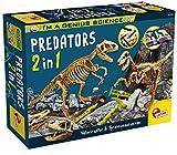 Lisciani Giochi - 77236 Gioco per Bambini I'm a Genius Predators 2 in 1