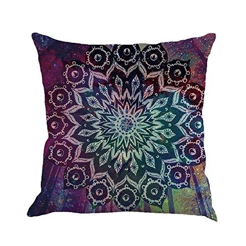 2019 nuovo cuscino di lino di tela di pittura di geometria unica copriletto creativo divano di casa arredamento per la casa 45cm × 45cm/ 18 × 18 pollici by wudube