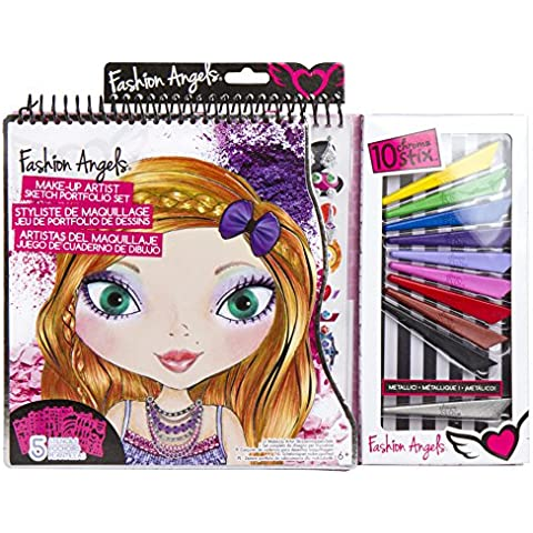 Grandi Giochi FA11703 - Fashion Angels, Make Up Portfolio Set