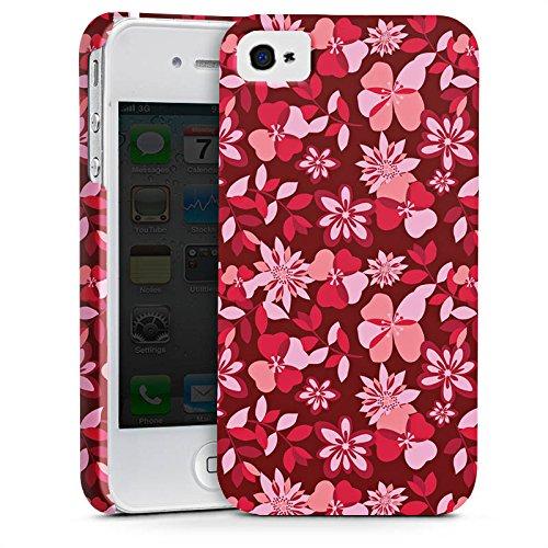 Apple iPhone X Silikon Hülle Case Schutzhülle Blumen Muster Ornament Premium Case glänzend