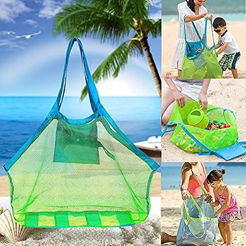 Strand-Ineinander greifen-Einkaufstasche - Strand-Spielwaren / Shell-Tasche Aufenthalt weg von Sand
