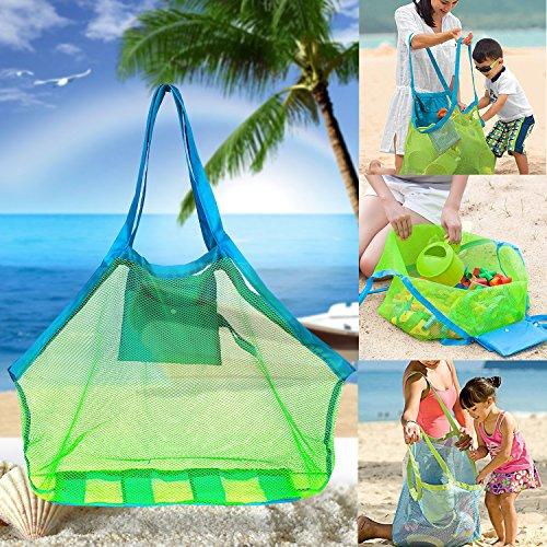 Machen Drawstring Handtasche (Strand-Ineinander greifen-Einkaufstasche - Strand-Spielwaren / Shell-Tasche Aufenthalt weg von Sand für den Strand, Pool, Boot)
