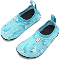 ByBetty Kids Toddler Water Shoes Quick Dry Beach Walking Shoes Lightweight for Baby Indoor Outdoor Aqua Socks
