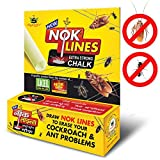 New Nok Lines (Pack of 12) Strong Chalk Pest Control Cockroach Killer