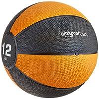 AmazonBasics Medicine Ball - 12-Pounds, Orange and Black