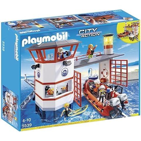 Playmobil 5539 -  Approdo della Guardia Costiera con Faro