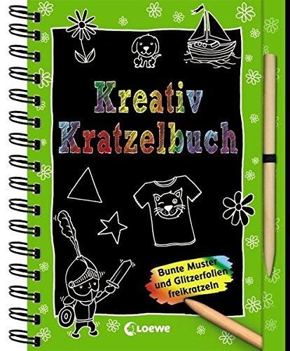 Preisvergleich Produktbild Kreativ-Kratzelbuch