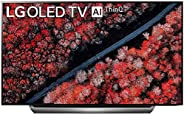 LG 195 cms (77 inches) 4K Ultra HD Smart OLED TV OLED77C9PTA | With Built-in Alexa (Dark Meteo Titanium) (2019