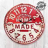 Reloj de Pared Home Made Vintage Coconut