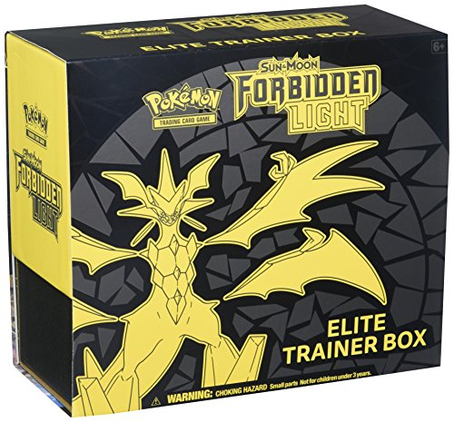 Pokèmon POK80433 Sun and Moon 6: Forbidden Light Elite caja de entrenamiento, multicolor