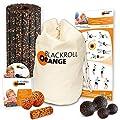 Blackroll Orange (Das Original) DIE Selbstmassagerolle - Komplett-Set (Groove STANDARD) mit miniBAG, Übungs-DVD, -Poster und -Booklet von blackroll-orange / Dr. Paul Koch GmbH