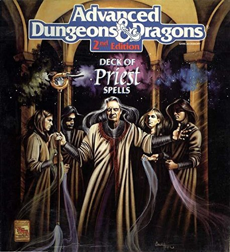 Priest Spell Cards (Advanced Dungeons & Dragons Game Accessory, 2nd Edition) by Tsr Staff (1-Jun-1992) Cards par Tsr Staff
