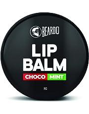 BEARDO Choco Mint Lip Balm for Men, 7 g
