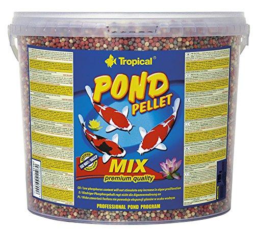 Tropical Pond Pellet Mix, 1er Pack (1 x 5 l) -