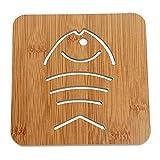 Anwaz Lovely Hollow Wooden Carved Coaster Hitze-isolierte Anti-Rutsch-Cup Mat Küche Geschirr A01