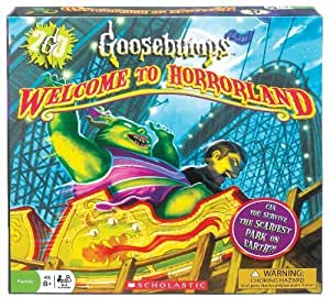 POOF-Slinky 0X2499 Ideal Goosebumps Welcome to Horrorland Board Game by Fundex TOY (English Manual)