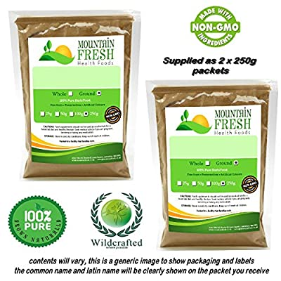 Muira Puama Powder 500g (2 x 250G) FREE UK Delivery from Mountain Fresh