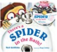 There's a spider in the bath! (Book & CD)