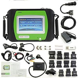 SPX Autoboss V30 Elite Super Scanner Online Update Unterstützung Multi-Marke Fahrzeuge Scanner Original-Update auf Linie V30 Elite-Auto-Diagnose-Tool können lesen und löschen Standardcodes ( Asiatischen, Europäischen, Amerikanischen )