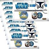 9-Stck-Wundertte-Star-Wars-Clone-Wars-Halskette-Armband-Alu-Tag-Plaketten-Mitgebsel