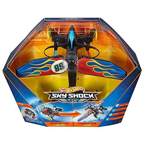 Mattel Hot Wheels DYD91 Sky Shock RC, vehículos con función
