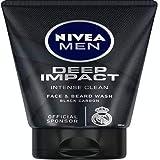 Nivea Men Deep Impact Face Wash, Pack of 2 (100 g) Face Wash (200)