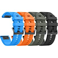NotoCity Cinturino per Garmin Fenix 5/Fenix 5 Plus/Fenix 6/Fenix 6 PRO/Forerunner 935/945, 22mm Cinturino di Ricambio in…