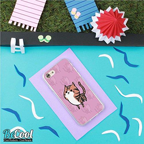 BeCool®- Coque Etui Housse en GEL Flex Silicone TPU Iphone 8, Carcasse TPU fabriquée avec la meilleure Silicone, protège et s'adapte a la perfection a ton Smartphone et avec notre design exclusif. Cha L1327