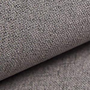 NOVELY® AUEN Premium Möbelstoff | Webstoff| fein gewebter Polsterstoff | Meterware | Bezugsstoff | 23 Farben ... (16 Grau Taupe)