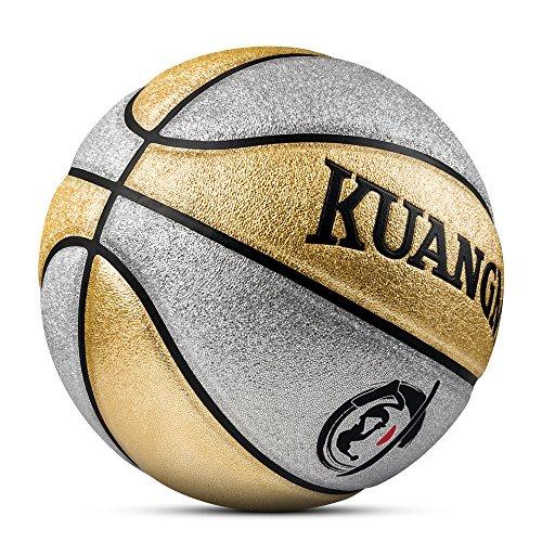 Kuangmi - Balón de Baloncesto limpiable tamaño 5