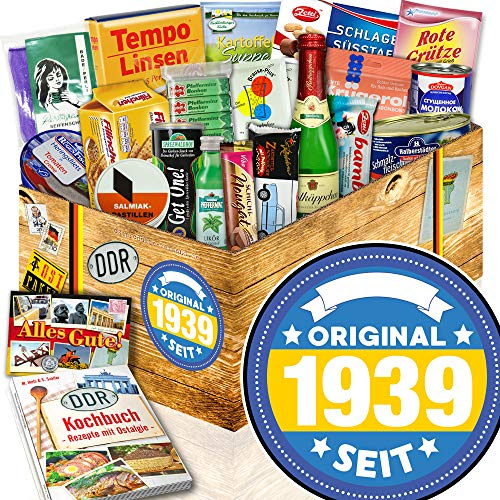 Original seit 1939 | Idee Geschenk zum 80. | Ostalgie Box Spezialitäten