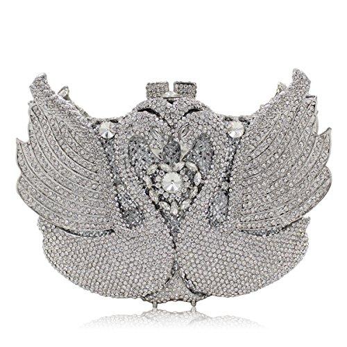 Diamante di lusso Borse sera Ladies preferito borsetta party di nozze portamonete della frizione B